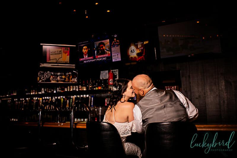 toledo bar wedding photo