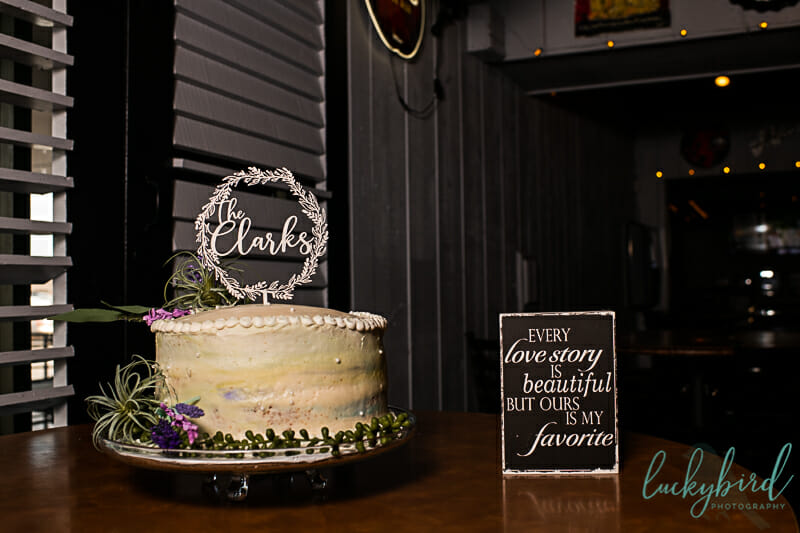 toledo wedding at bar
