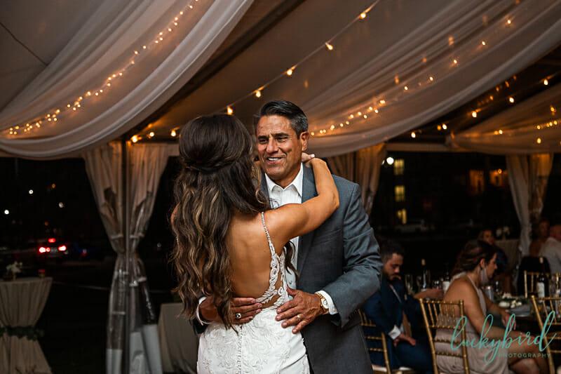 dance during perrysburg wedding