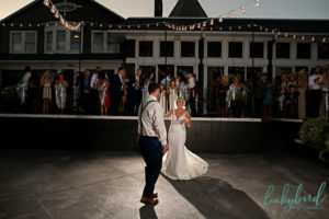 first dance at toledo country club wedding