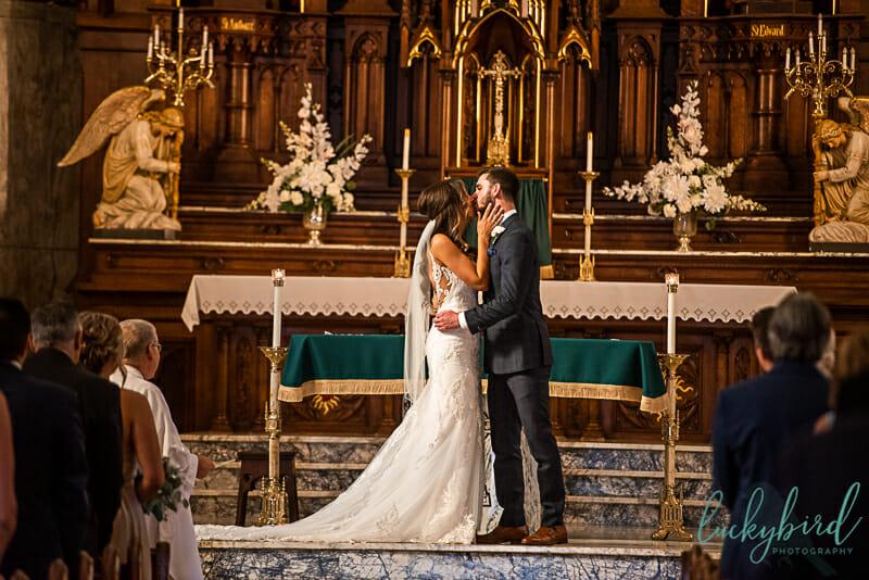 kiss st patrick church toledo