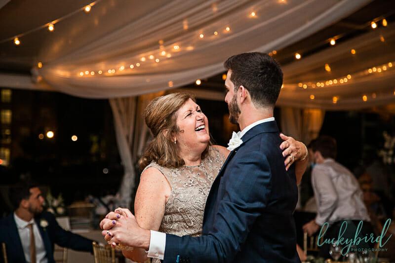 mother son dance perrysburg wedding