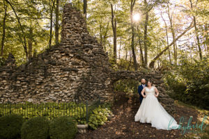 nazareth hall grotto sunrise wedding photos