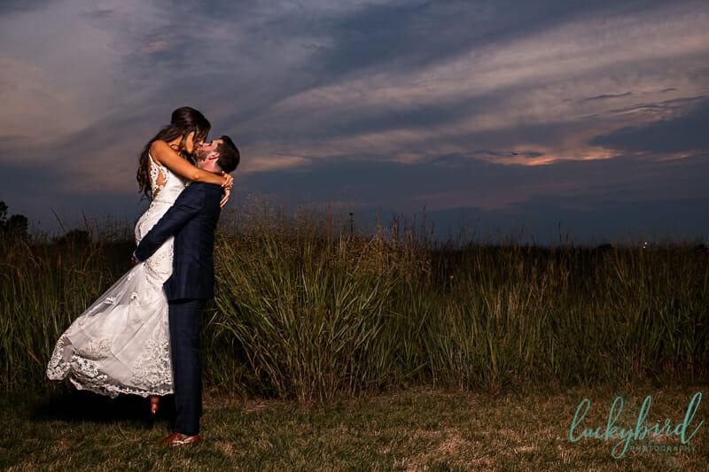 sunset wedding photos perrysburg