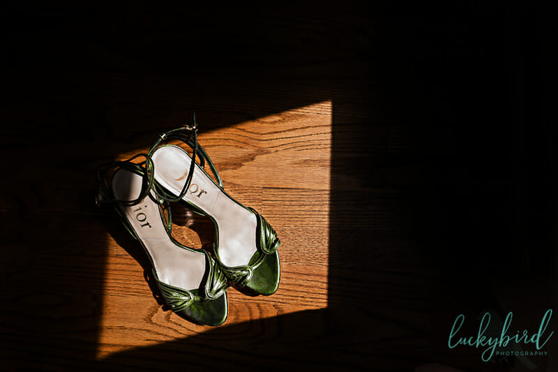 vintage moss green dior shoes toledo wedding