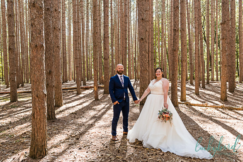wedding photography at the spot oak openings