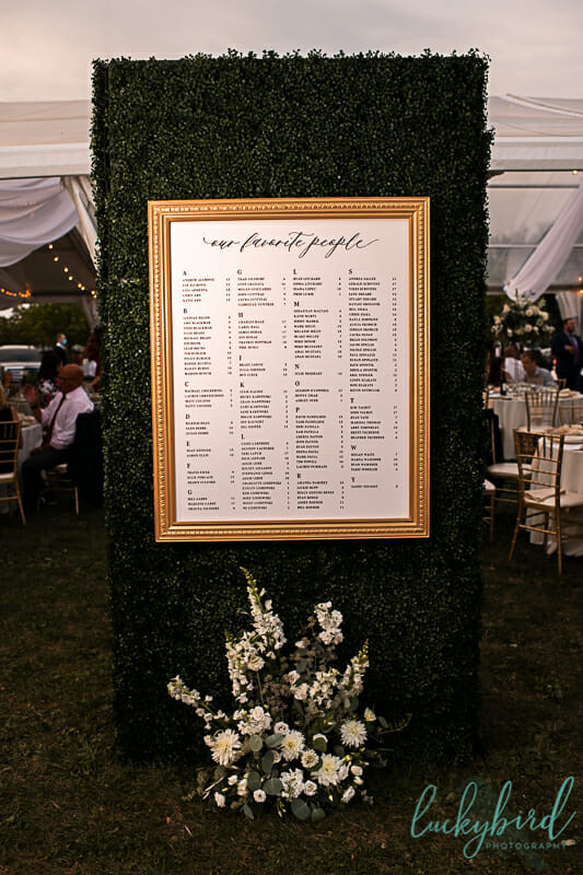 wedding reception in perrysburg