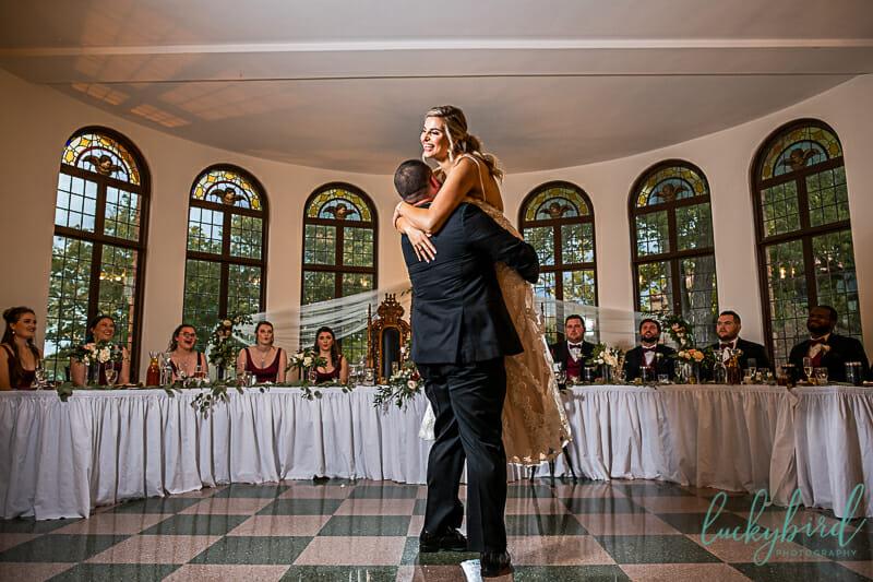 cute first dance at nazareth hall