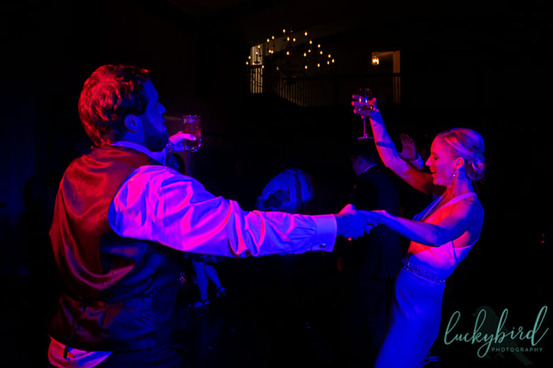 dancing photo at inverness country club toledo wedding reception