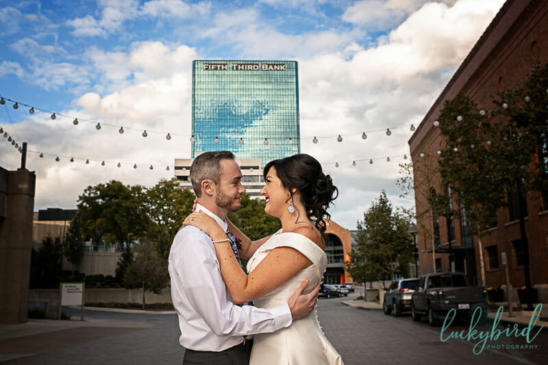 downtown toledo wedding photography