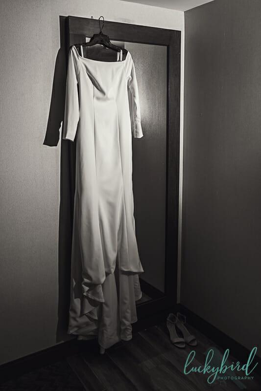dress hanging in renaissance hotel toledo