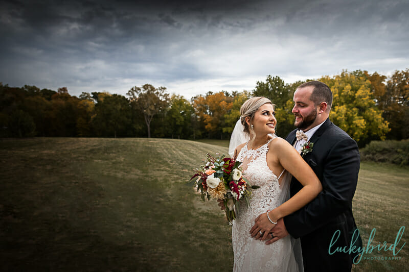 fall wedding photography at nazareth hall