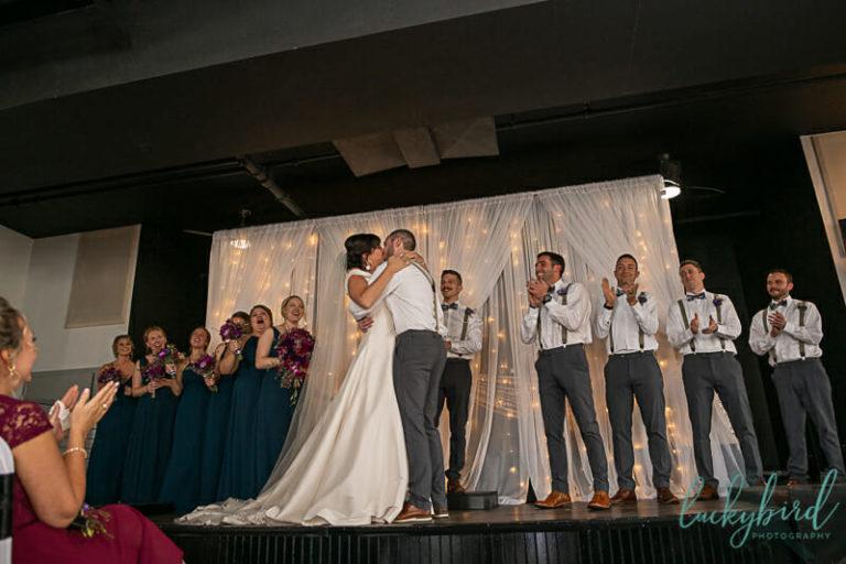first kiss summit toledo wedding