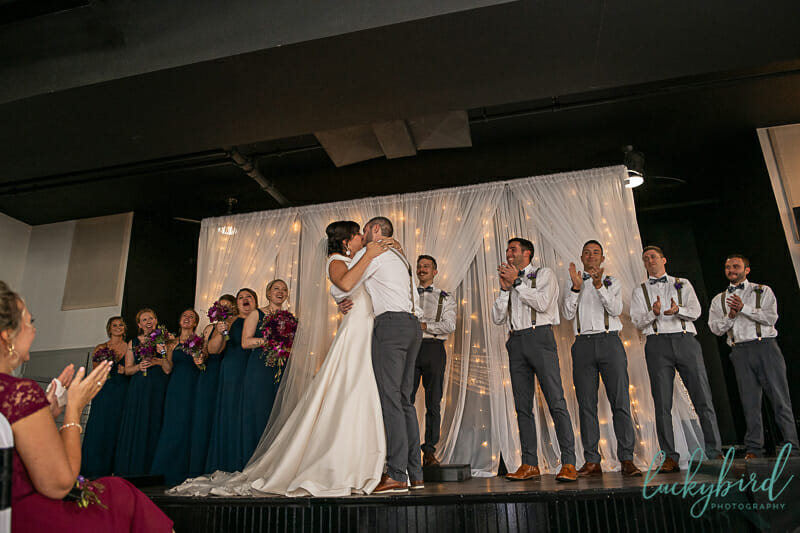 first kiss summit toledo wedding