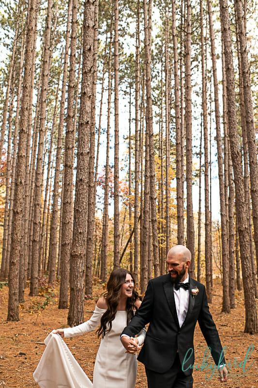 fun oak openings wedding photos