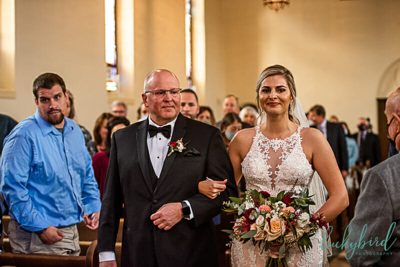 nazareth hall chapel wedding