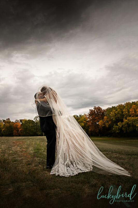 nazareth hall wedding photos in fall