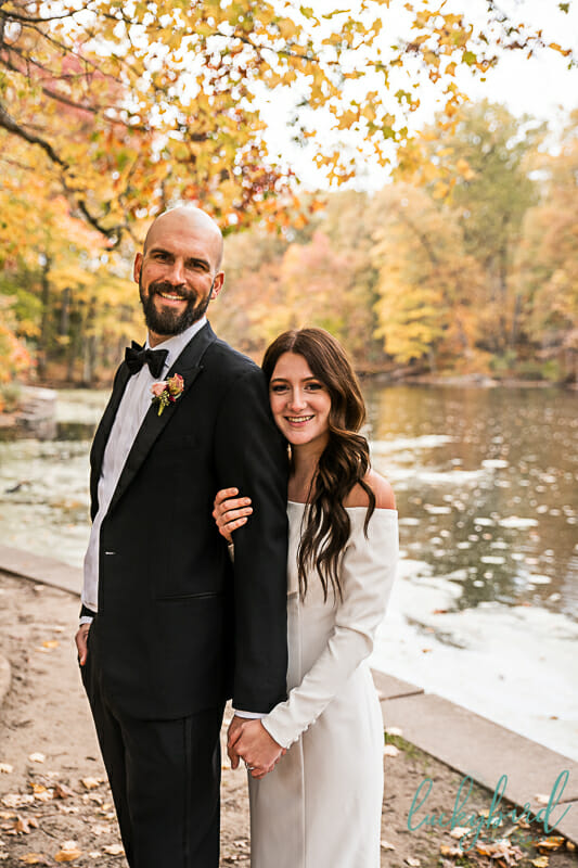 oak openings evergreen lake wedding