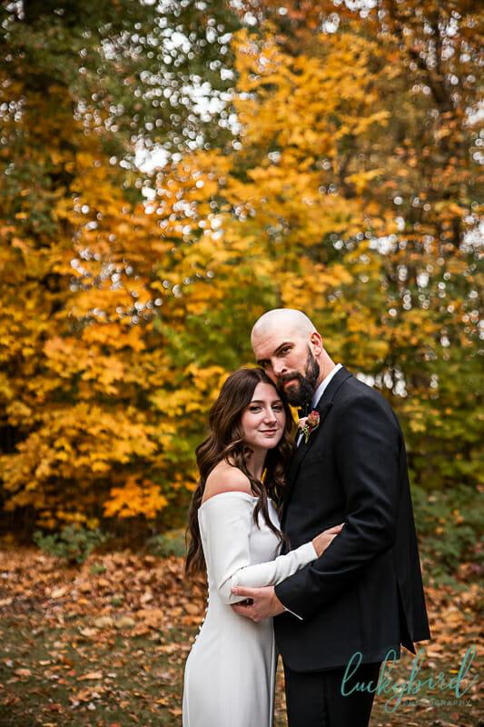 oak openings fall wedding