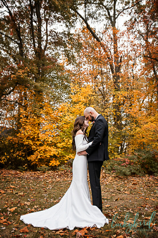 oak openings fall wedding photos