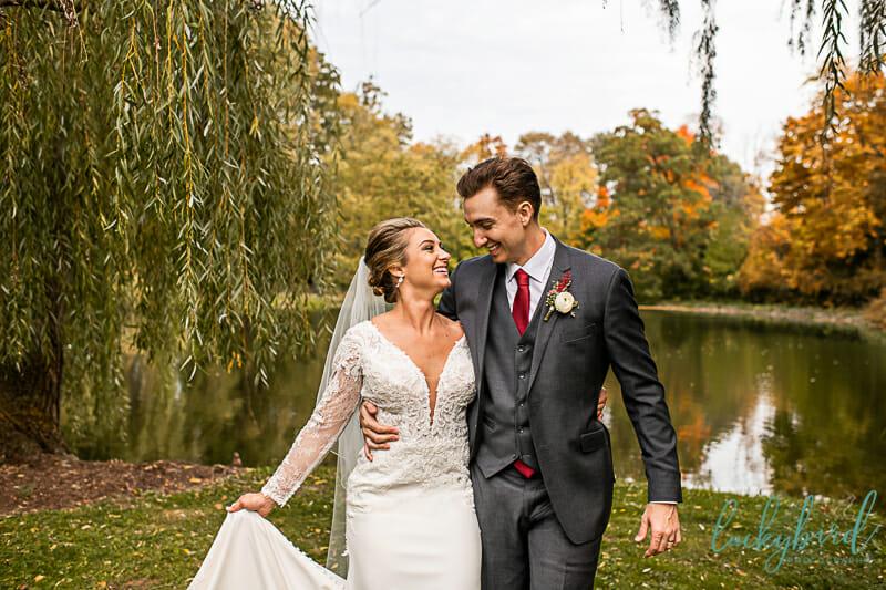 schedel garden wedding photos