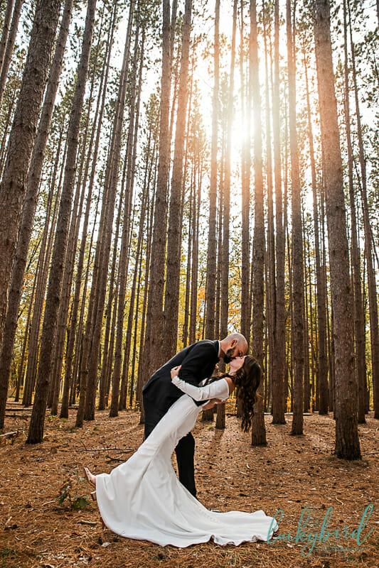 the spot oak openings wedding photography