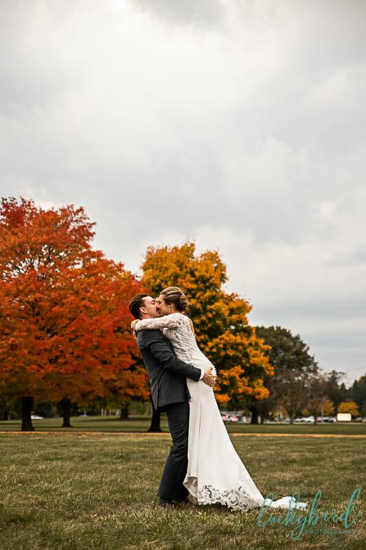toledo fall wedding photography