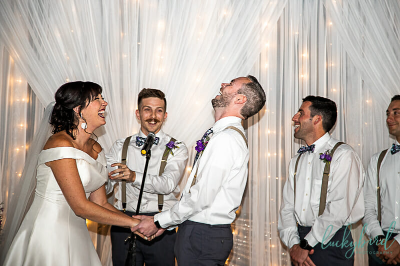 vows during summit toledo wedding