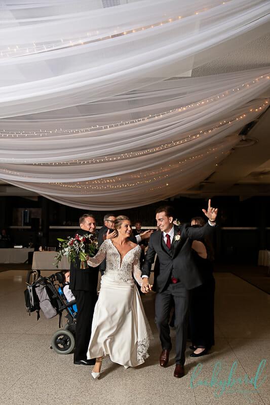 wedding reception at stranahan