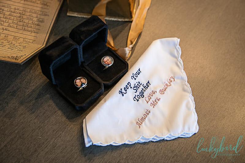 brides gift to groom renaissance toledo