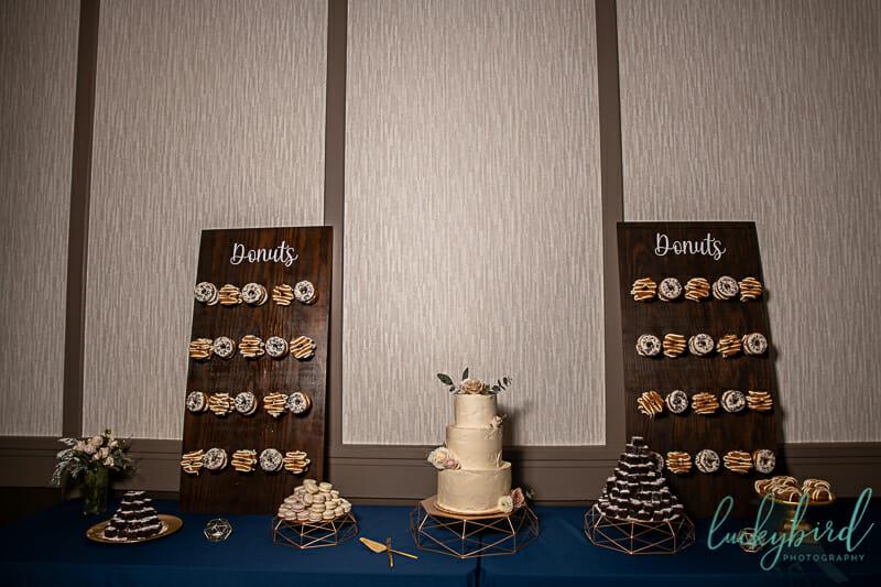 donut and cake wall renaissance toledo