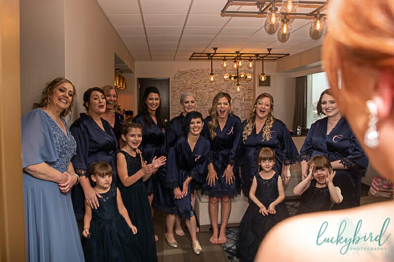 renaissance toledo bridesmaids reveal