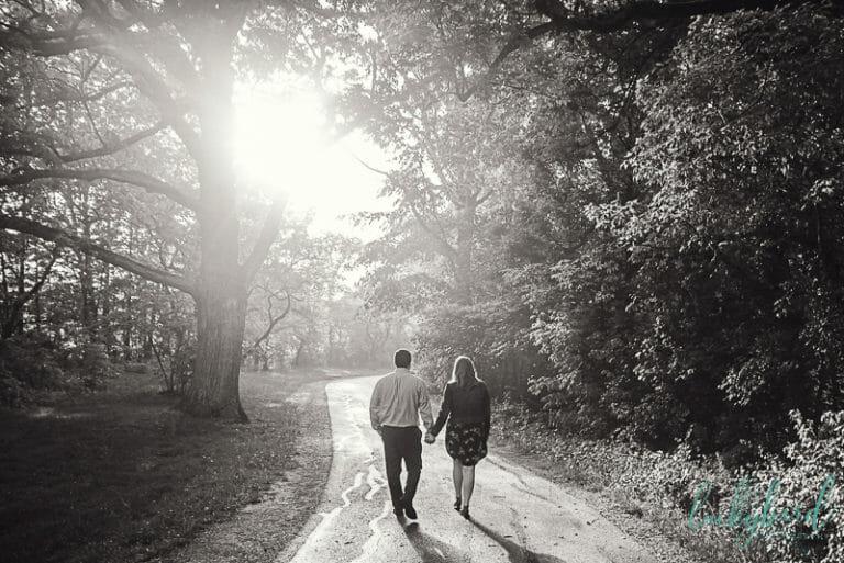 wildwood fall engagement photos in northwest ohio