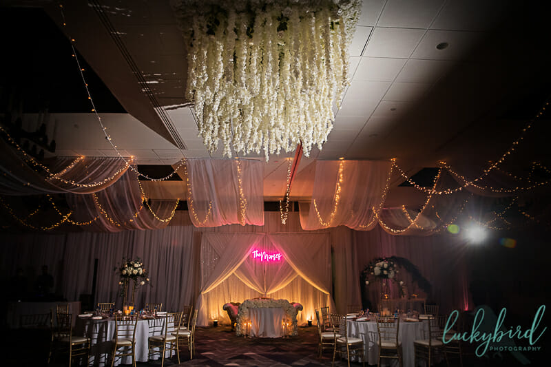 renaissance toledo wedding reception photo