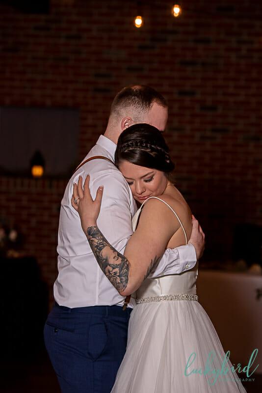 last dance at the barn at walnut creek wedding