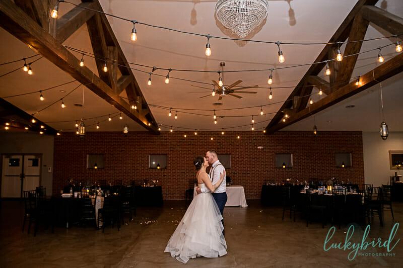 the barn at walnut creek wedding last dance