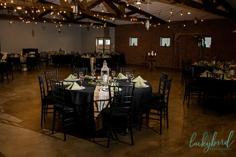the barn at walnut creek wedding reception