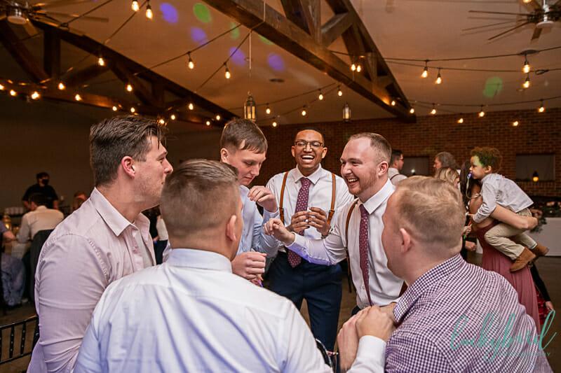 the barn at walnut creek wedding reception dancing