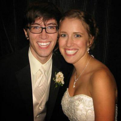 wedding photo austin and lindsay rozelle