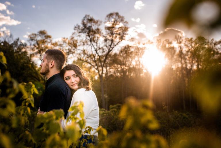 oak openings engagement photo by toledo wedding photographer luckybird photography