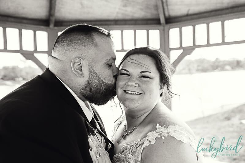 Nederhouser Community Hall wedding photos