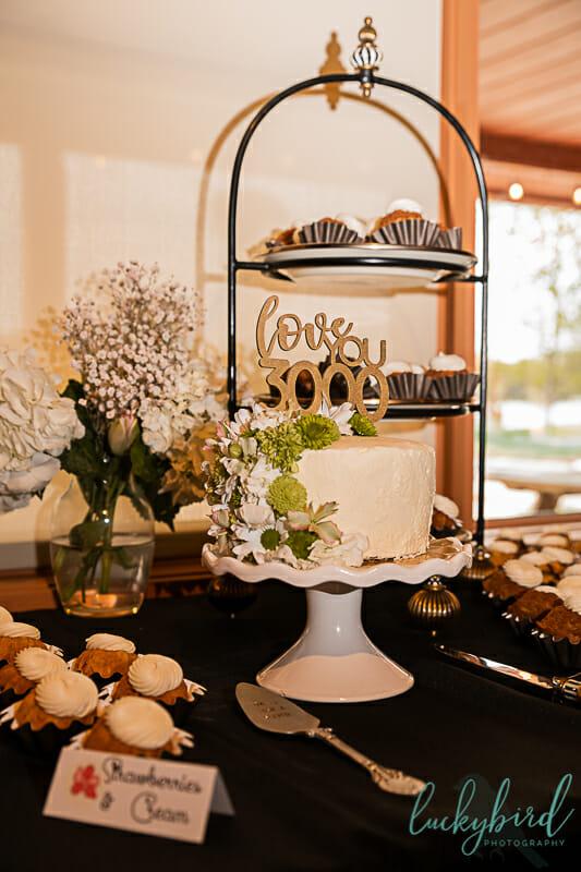 Nederhouser Community Hall wedding reception