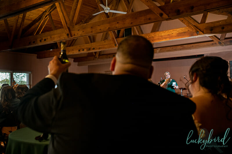 Sylvania ohio wedding toast