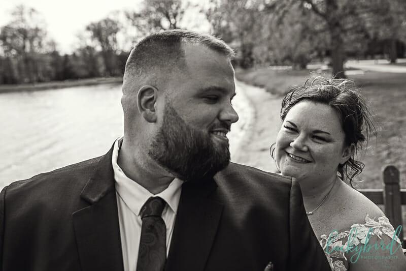cake smash at sylvania ohio wedding