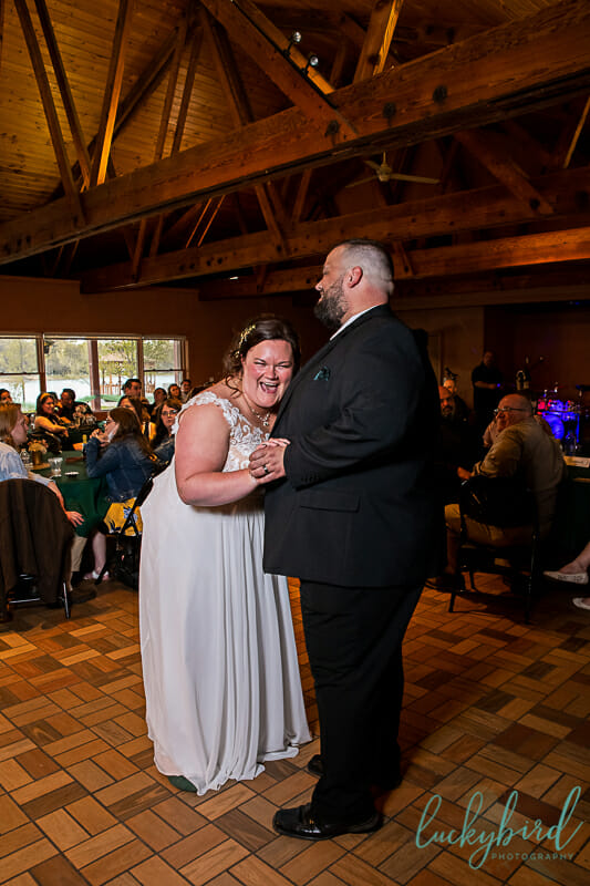 first dance at Nederhouser Community Hall