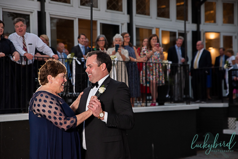 mother son dance at toledo country club
