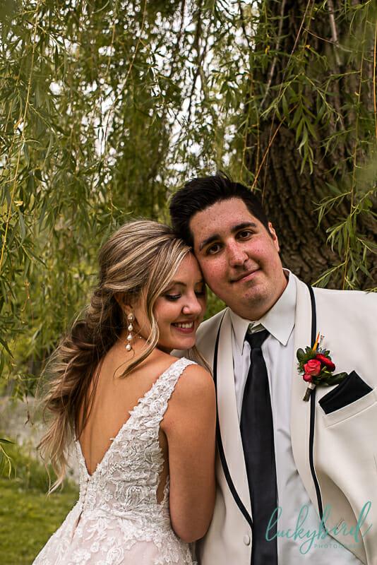 sidecut park wedding photos