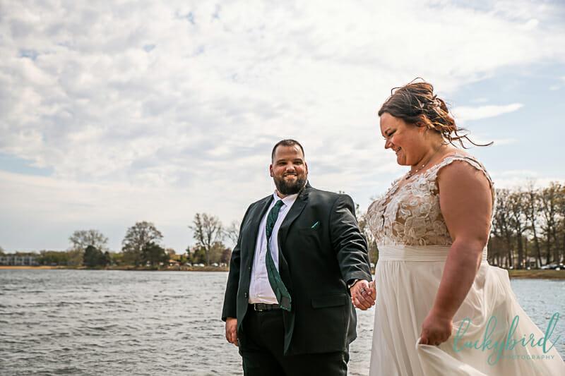 water wedding photos olander