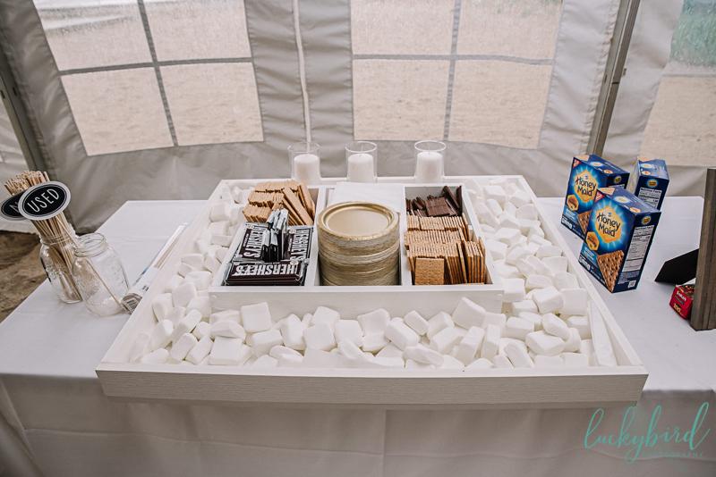 smore wedding photos