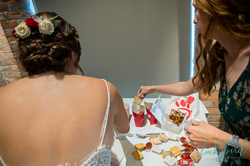 chick fil a at toledo zoo wedding